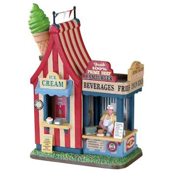 Hamburger & Ice Cream Stand
