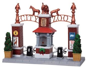City Zoo Entrance