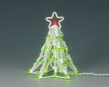 Lighted Sculpture-Christmas Tree