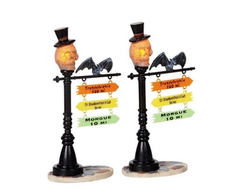 Skull Street Lamp