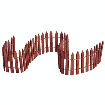 "18"" Wired Wooden Fence"