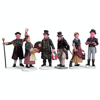 Village People Figurines, Set Of 6
