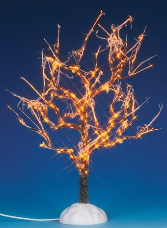 Lighted Ice Glazed Tree, Clear