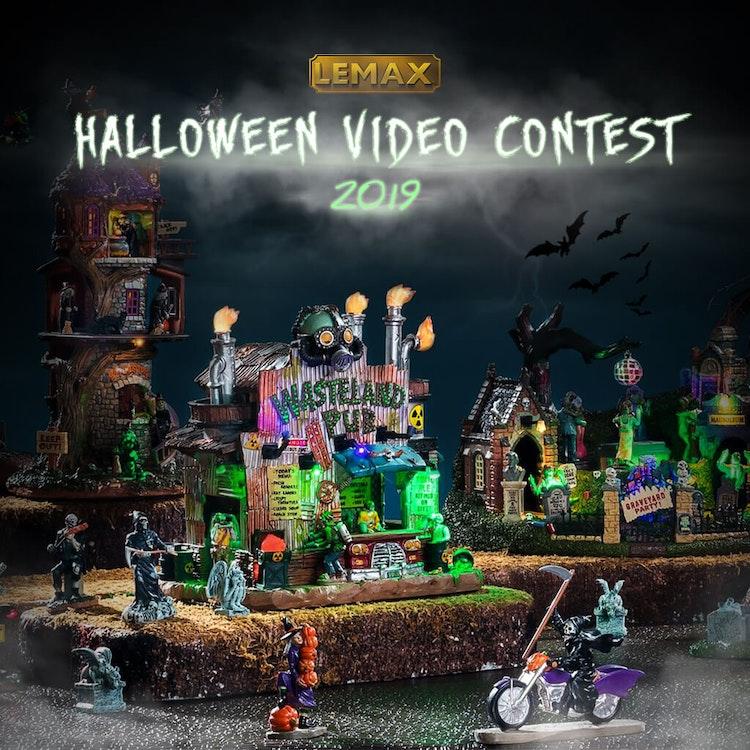 Lemax Halloween Video Contest