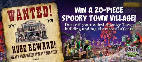 Lemax Spooky Town 20th Anniversary Contest