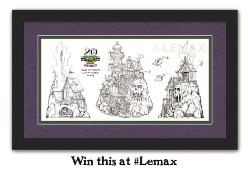Lemax & Gift Spice Halloween Contest
