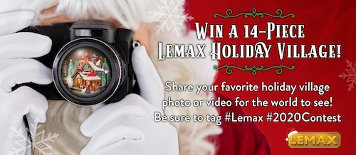 Lemax 2020 Holiday Video and Photo Contest