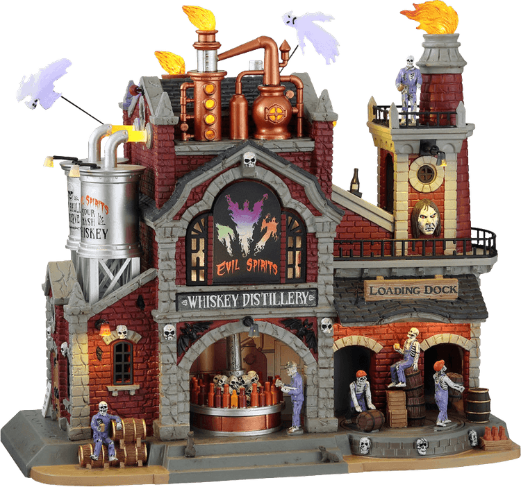 Evil Spirits Whiskey Distillery