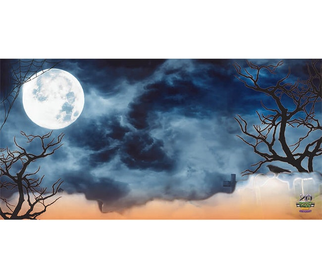 Lemax Halloween Backdrop