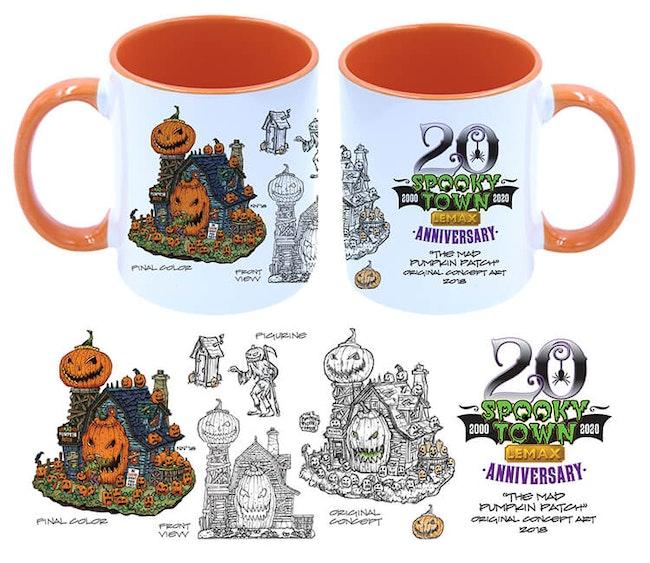 Halloween Village Mug