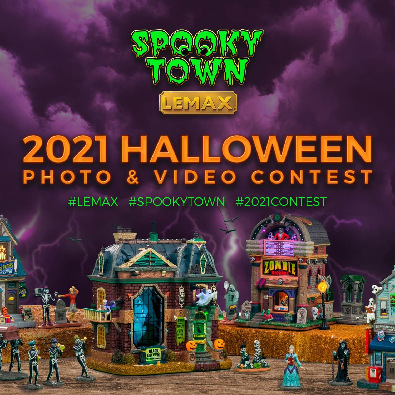 Lemax 2021 Halloween Contest