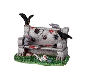 Creepy Park Bench