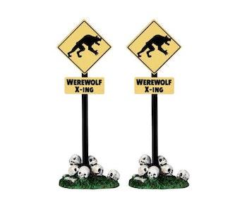 Werewolf Crossing Sign