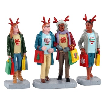 Girls Christmas Shopping Trip