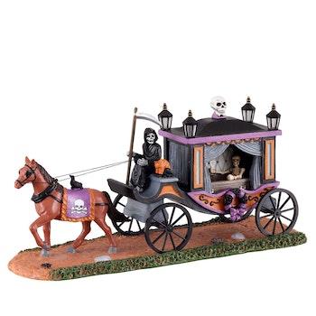 Spooky Victorian Hearse