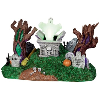 Haunted Village Cemetery