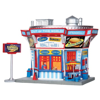 Astro Burgers, Set Of 2
