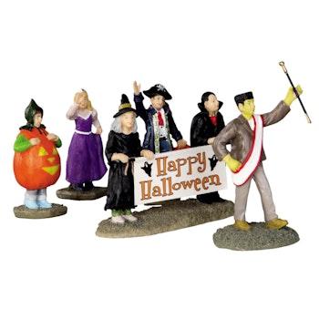 Halloween Parade Banner, Set Of 5
