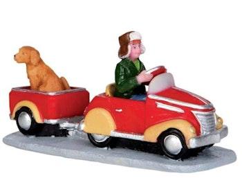 Pedal Car Hitchhiker