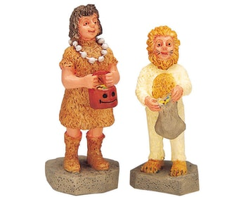 Lion & Caveman