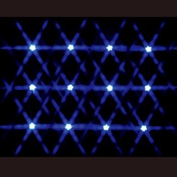 12 Lighted Star String - Blue