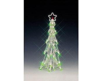 Lighted Sculpture-Slim Christmas Tree Medium