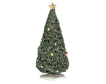 Shimmering Flashing Christmas Tree