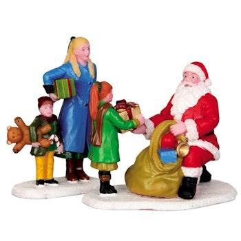 Presents From Santa  Set Of 2