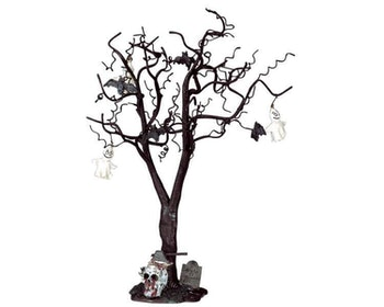 Decorated Skull Tree Large