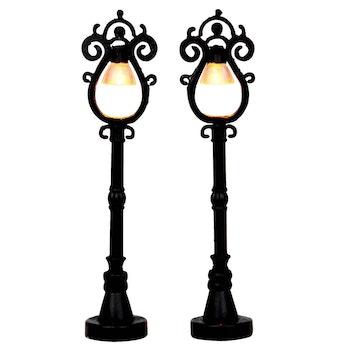 Parisian Street Lamp  Set Of 2