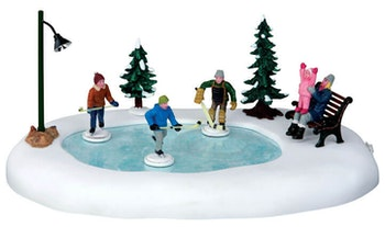 Holiday Hockey  Set Of 8