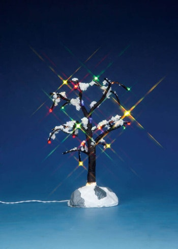 Snowy Dry Tree  Medium