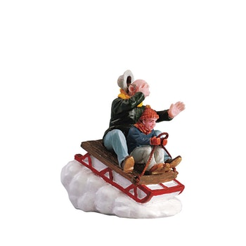 Sledding With Gramps