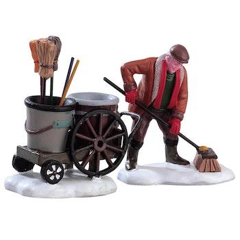 Street Sweeper, Set Of 2