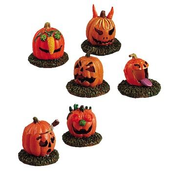 Pumpkin People, Set Of 6