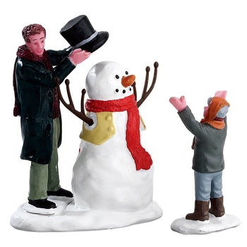 Sharp-Dressed Snowman, Set Of 2