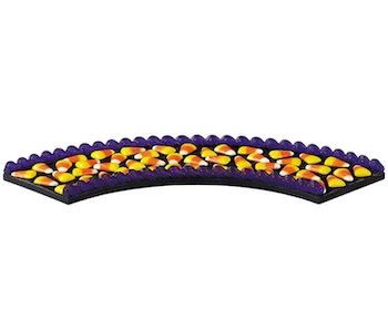 Curved Candy Corn Road