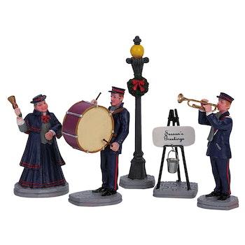 Christmas Band, Set Of 5