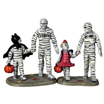 Trick Or Treating With Mummy And Deady Set Of 2