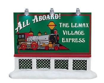 Train Billboard