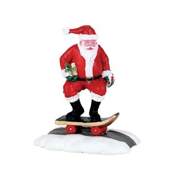 Skateboard Santa