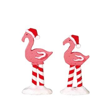 Pink Flamingos, Set Of 2