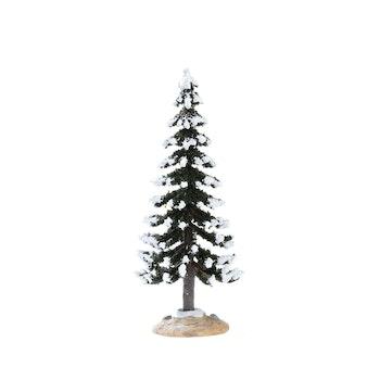 Snowy Layered Tree