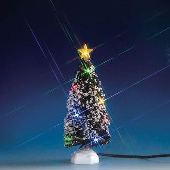 Multi Light Evergreen Tree, Medium