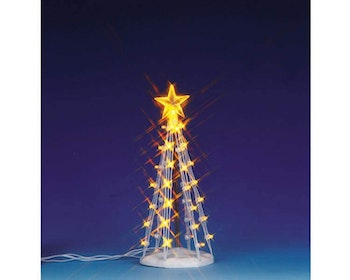 Lighted Silhouette Tree(Clear) M