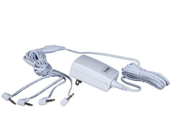Power Adaptor 3V White 4-Output Ul/Cul