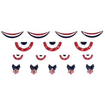 American Flag Decoration