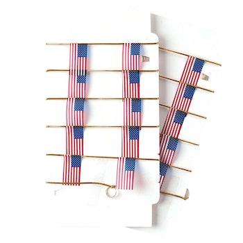 American Flag String Decor