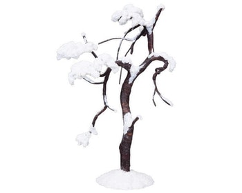 Snowy Willow Tree Large
