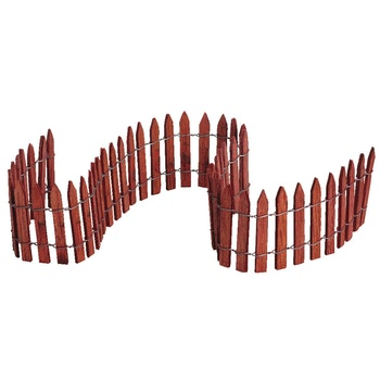 18 Wired Wooden Fence
